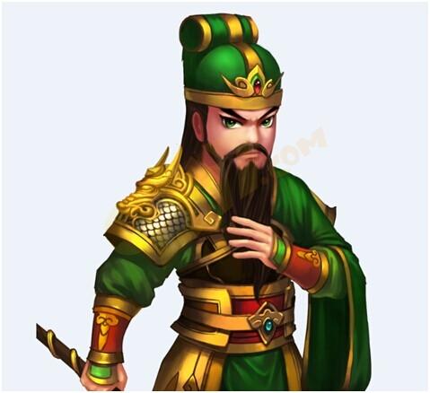 """关羽,字云长,与刘备,张飞""""桃园三结义"""",蜀汉""""五虎上将""""."""