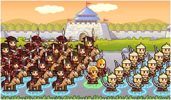 村长征战团兵种